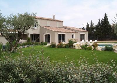 Villa contemporaine Simeone Saint Rémy de Provence
